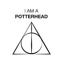 I am a Potterhead Photographic Print