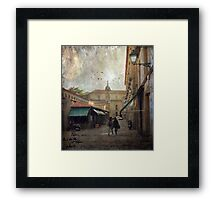 Moments of the heart Framed Print