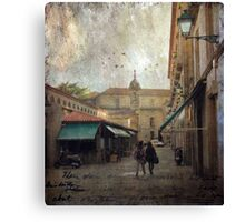 Moments of the heart Canvas Print