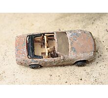 rusty classic car Photographic Print