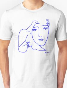 Dove Face by Picasso T-Shirt