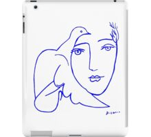Dove Face by Picasso iPad Case/Skin