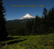 PostCard Extravaganza: Mount Hood by artisandelimage