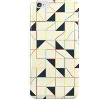 Triangles and Squares IV iPhone Case/Skin