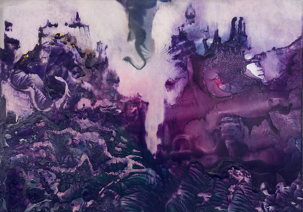 Incoming alien elephant by Ida Jokela