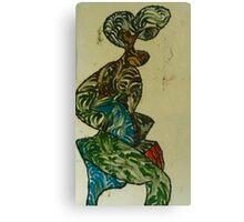 A woman loving a man Canvas Print