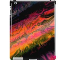 psychedelic flames iPad Case/Skin