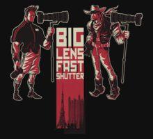 Big Lens Fast Shutter - Black T by toksuede