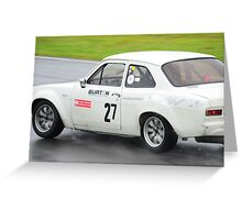Ford Escort Mk1 RS1600 Greeting Card