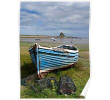 Holy Island Harbour, UK Poster