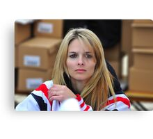 Lisa Kelly (Ice Road Truckers) Canvas Print