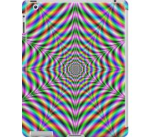 Twelve Pointed Psychedelic Web iPad Case/Skin