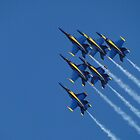 Blue Skies For Blue Angels by AH64D
