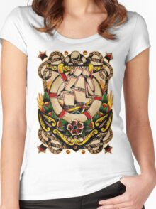 Spitshading 027 Women's Fitted Scoop T-Shirt