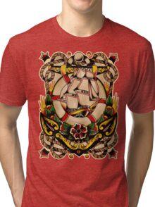 Spitshading 027 Tri-blend T-Shirt