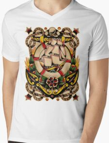 Spitshading 027 Mens V-Neck T-Shirt