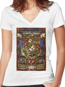 Spitshading 028 Women's Fitted V-Neck T-Shirt