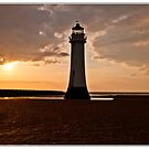 Lighthouse Sunset by Pamsar