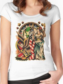 Spitshading 029 Women's Fitted Scoop T-Shirt