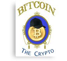 Bitcoin The Crypto Canvas Print