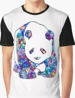 Playful Panda Graphic T-Shirt