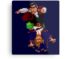 Largo LaGrande and Guybrush (Monkey Island 2) Metal Print