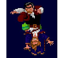 Largo LaGrande and Guybrush (Monkey Island 2) Photographic Print