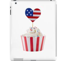 Independence day cupcakes iPad Case/Skin