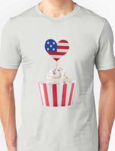 Independence day cupcakes Unisex T-Shirt
