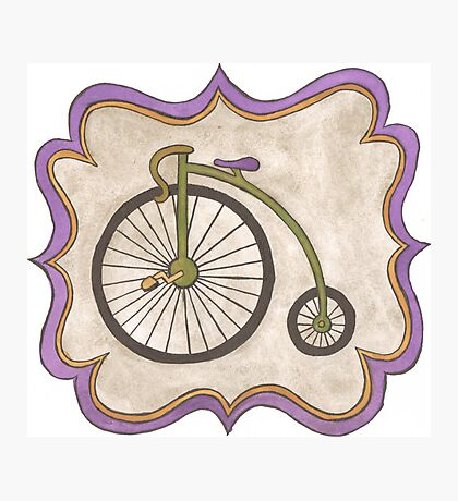 Penny-farthing Photographic Print