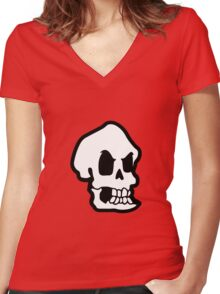 The evil Murray (Monkey Island 3) Women's Fitted V-Neck T-Shirt