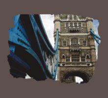 Tower Bridge One Piece - Short Sleeve