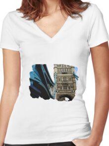 Tower Bridge Women's Fitted V-Neck T-Shirt