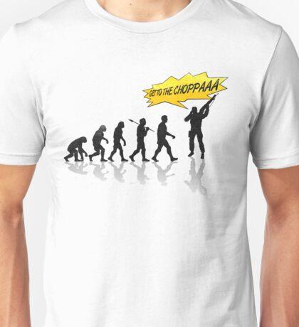 Get to the choppaaa Unisex T-Shirt