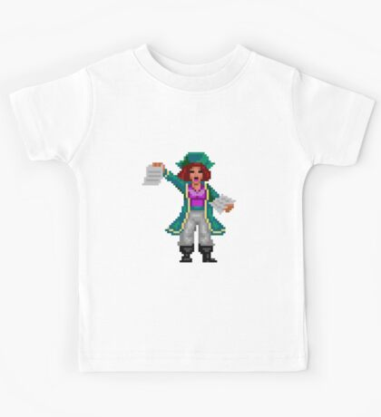 Captain Kate (Monkey Island 2) Kids Tee