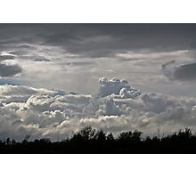 Clouds in the Sky.. Photographic Print