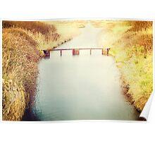 Overcombe Nature Reserve, Dorset Poster