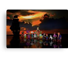 Secret of Monkey Island pixel art Canvas Print