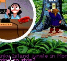 Lucas Arts call center (Monkey Island 2) Sticker