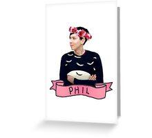 Phil Greeting Card
