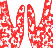 """Manos"" the hands of fate Sticker"
