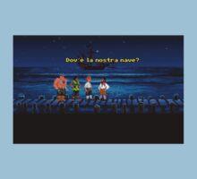 Dov'è la nostra nave? (Monkey Island 1) Baby Tee