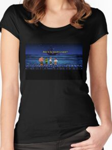 Dov'è la nostra nave? (Monkey Island 1) Women's Fitted Scoop T-Shirt