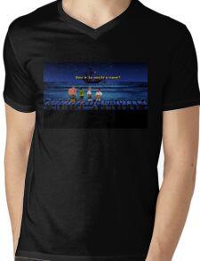 Dov'è la nostra nave? (Monkey Island 1) Mens V-Neck T-Shirt