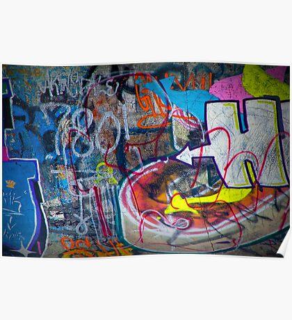 Graffiti in Edmonton Poster