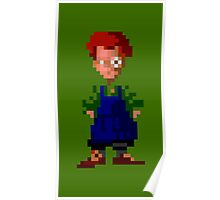 Wally! (Monkey Island 2) Poster