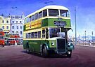 Southdown Leyland PD2 by Mike Jeffries