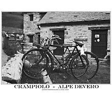 two bikes Photographic Print