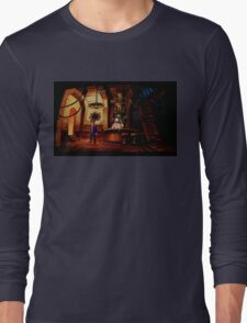 The barkeeper of Scabb Island Long Sleeve T-Shirt