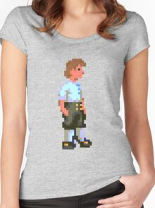 Guybrush (Monkey Island 1) Women's Fitted Scoop T-Shirt